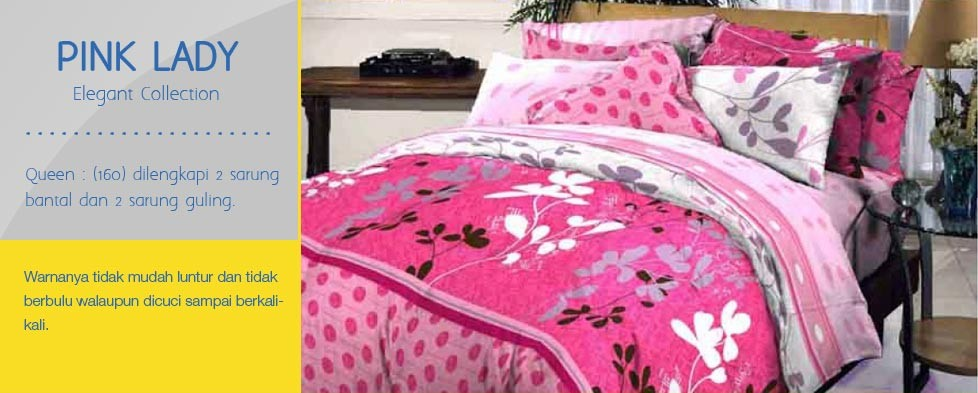 Bedcover Pink Lady