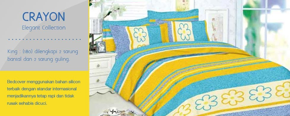 Bedcover Romeo Crayon