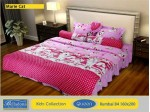 Sprei Rumbai Bantal 4 Marie Cat (Queen 160x200)