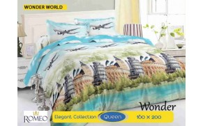 Bedcover Romeo Wonder world (Queen 160x200)