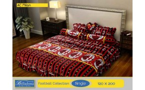 Bedcover Ac Milan (Single 120x200)