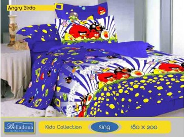 Bedcover Angry Birds (King 180x200)