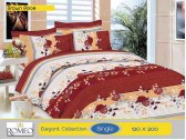 Bedcover Romeo Brown Rose (Single 120x200)