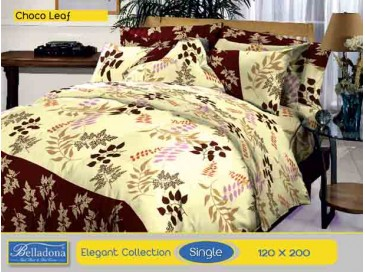 Bedcover Choco Leaf (Single 120x200)