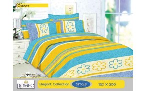 Bedcover Romeo Crayon (Single 120x200)