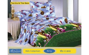 Bedcover Masha and The Bear (King 180x200)