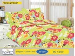 Bedcover Romeo Painting Flower (Single 120x200)