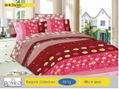 Bedcover Romeo Pink Dandy (King 180x200)