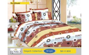 Bedcover Romeo Sun Flower (Single 120x200)
