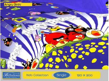 Sprei Angry Birds (Single 120x200)