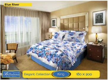Sprei Blue River (King 180x200)