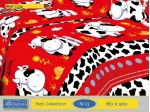 Sprei Red Cow (King B4 180x200)