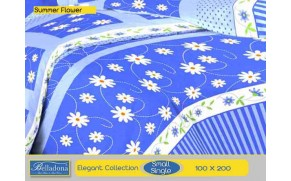 Sprei Summer Flower (Small Single 100x200)